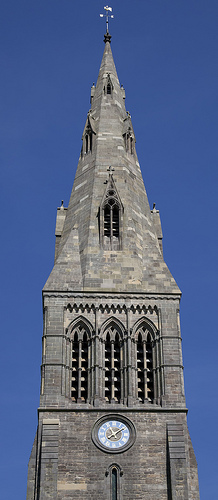 Leicester Cathedral Spire
