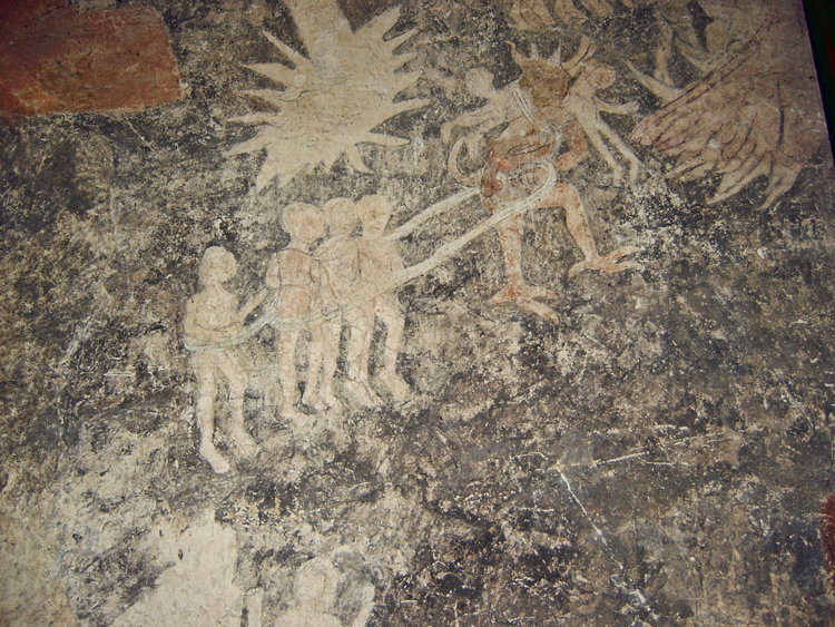 Medieval Church Wall Paintings Kempley