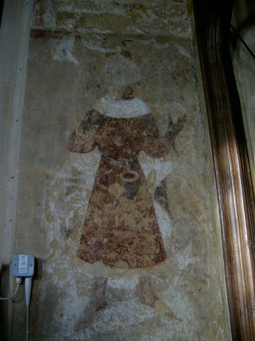 Medieval Wall Paintings Leicestershire