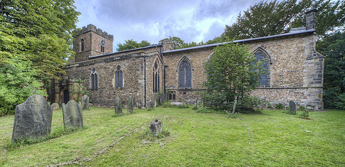 Belgrave church south view