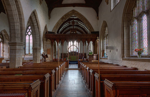 Broughton Astley Interior Nave to Chancel