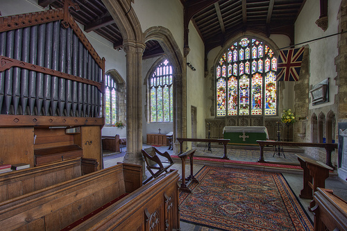 Burton Overy Chancel