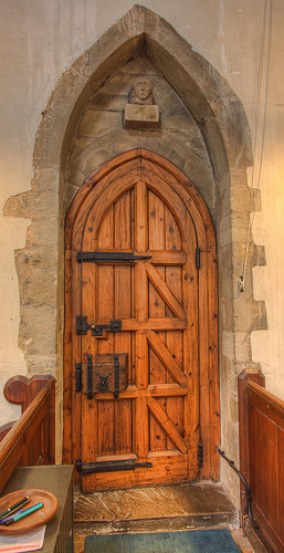 Dunton Bassett Church South Doorway