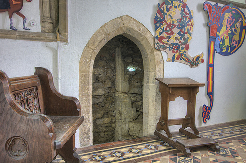 Hallaton Chancel Doorway