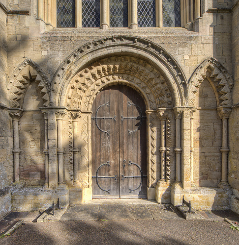 Ketton Church West Entrance