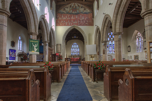 Lutterworth Church Nave