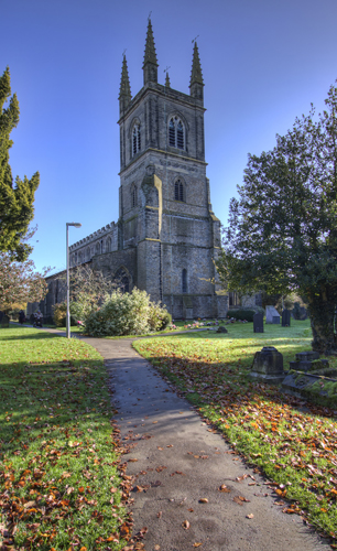 Lutterworth Church Tower