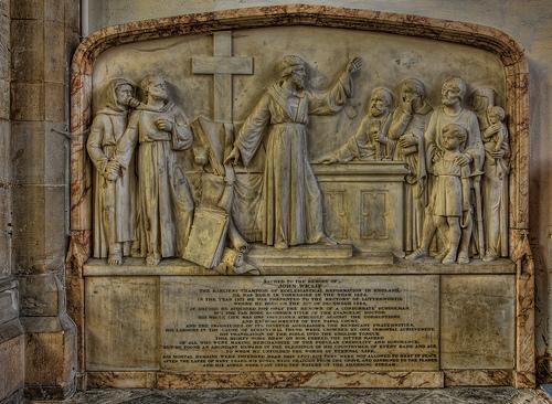 Lutterworth Wycliffe Monument