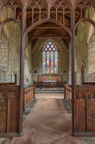 Lyddington Church Rood Screen