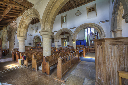 Manton Church aisle