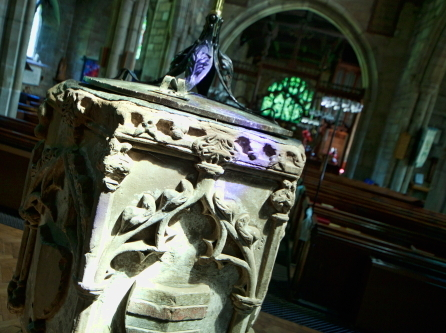 Market Bosworth Church Font