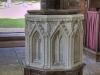 Noseley Chapel Font
