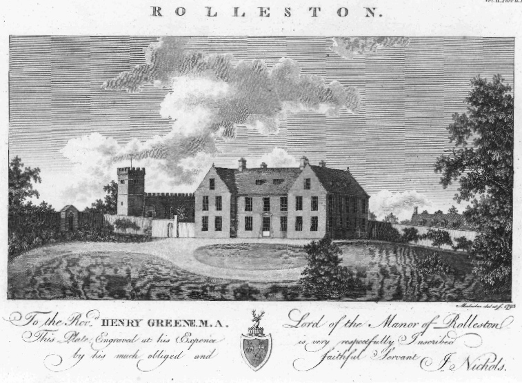Rolleston Church Leicestershire 1793