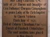 Rolleston Church Brass Memorial