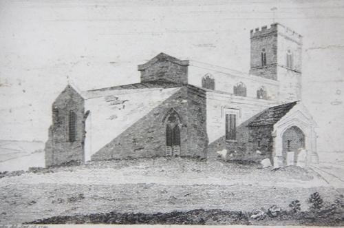 Saddington Church late 18th Century