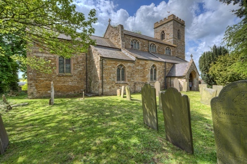 Saddington Church North View