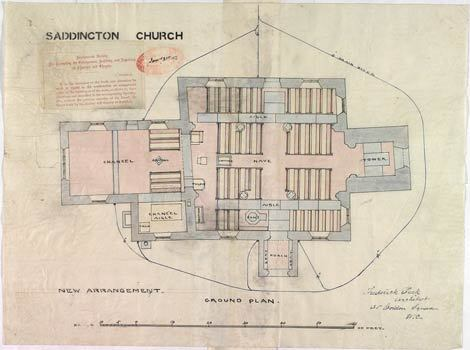 Saddington Church Plan