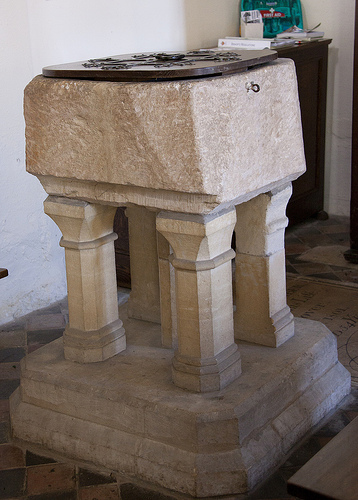 Tixover Church Font