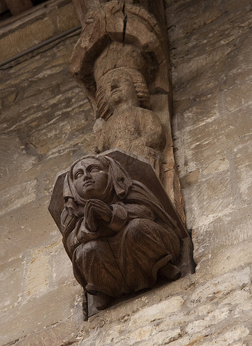 Whissendine Church Carved Corbel