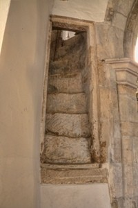 The Rood Loft staircase