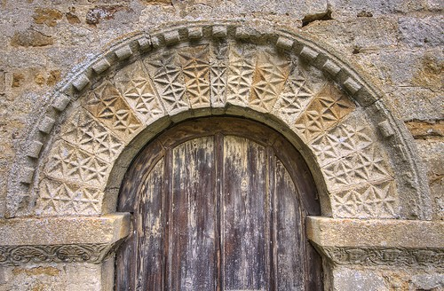 12th Century south doorway with its fine ornament