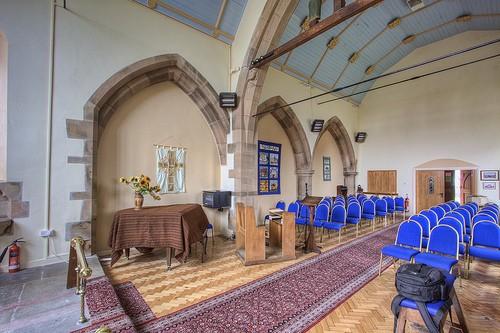 Stanton under Bardon nave